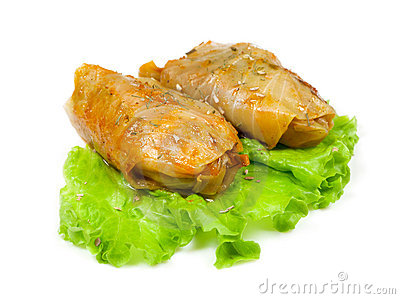 Cabbage roll dinner clipart free.