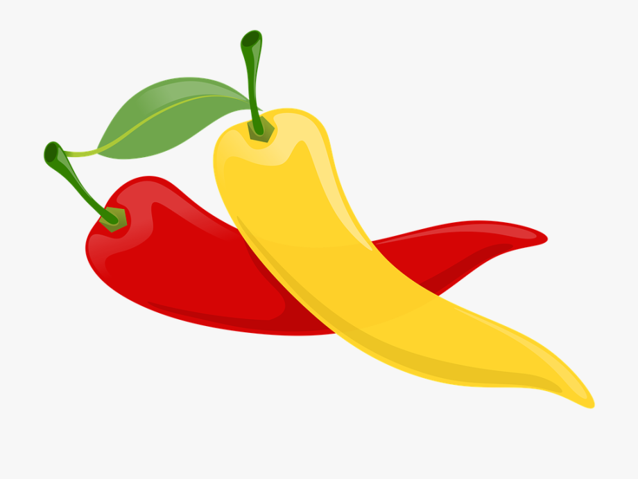 Peppers, Fruits, Vegetables, Plants, Red, Yellow, Green.