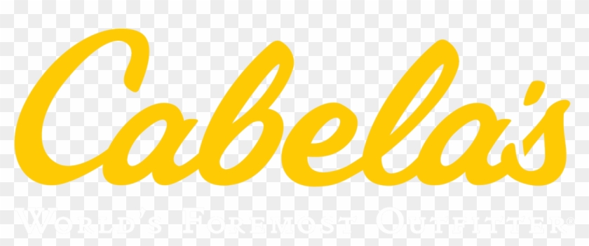 Cabelas Logo With Black Background, HD Png Download.