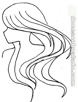 Desenho cabelo png 2 » PNG Image.