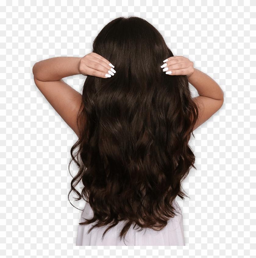 Extension Brown Hair.