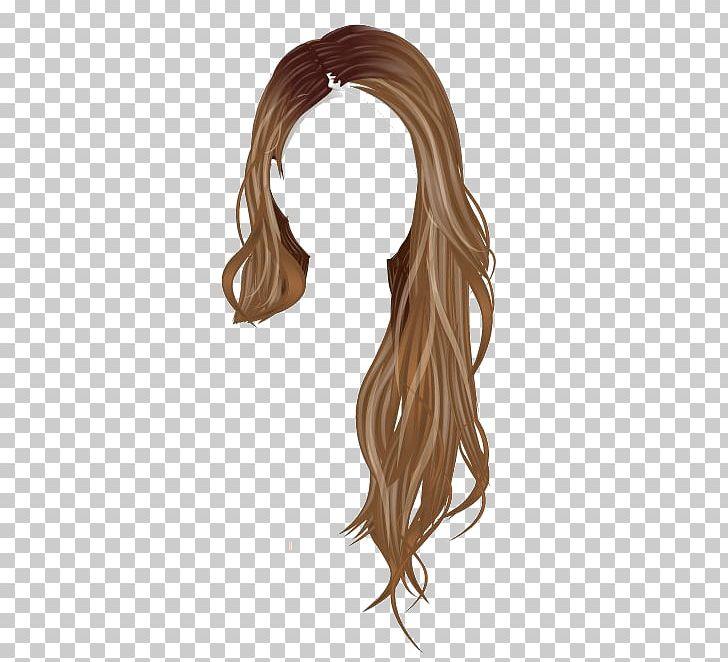 Stardoll Brown Hair Wig PNG, Clipart, Brown Hair, Cabelo, Demi.