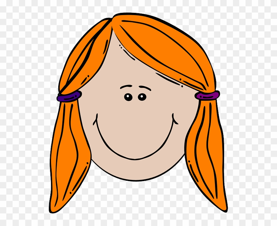 Ginger Clipart Woman.