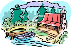 Cabin clipart summer, Cabin summer Transparent FREE for.