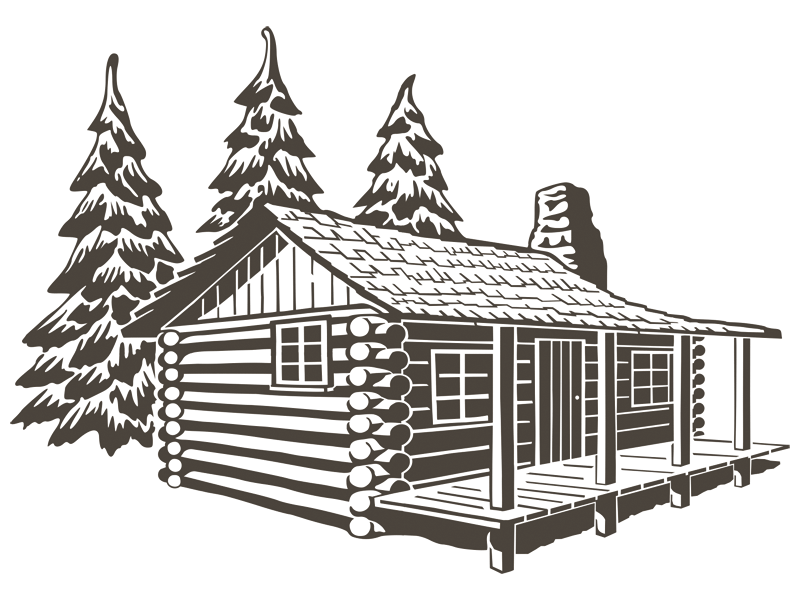 Cabin clipart lodging, Cabin lodging Transparent FREE for.
