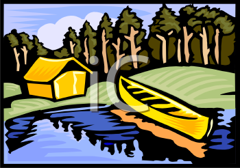 1130 Cabin free clipart.