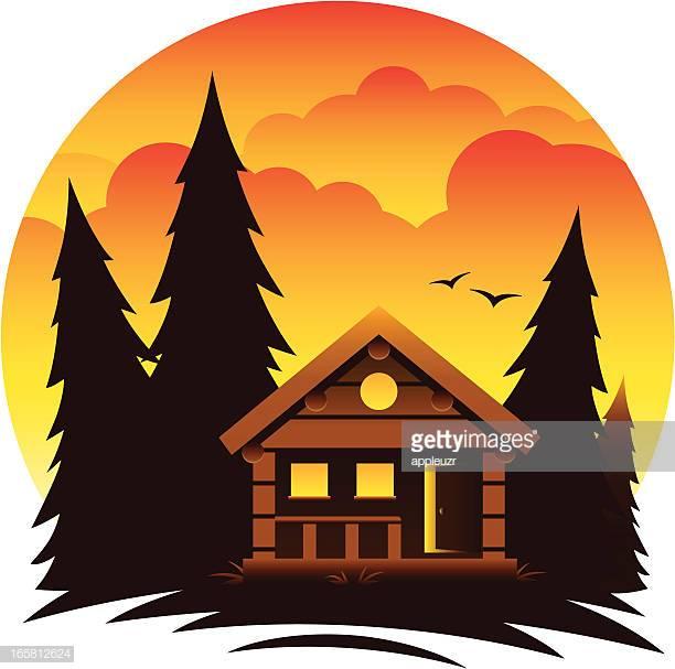 60 Top Log Cabin Stock Illustrations, Clip art, Cartoons, & Icons.