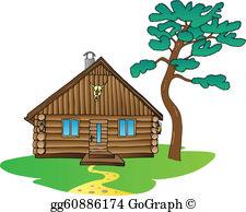 Cabin Clip Art.