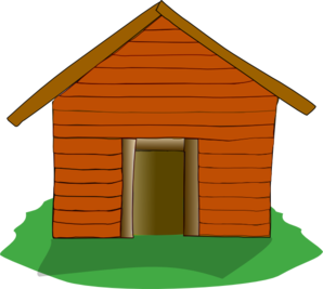 Camping Cabin Clipart.