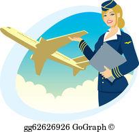 Flight Attendant Clip Art.