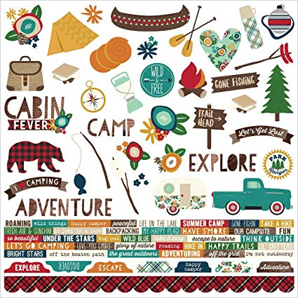 Amazon.com: Cabin Fever Combo Sticker Sheet.