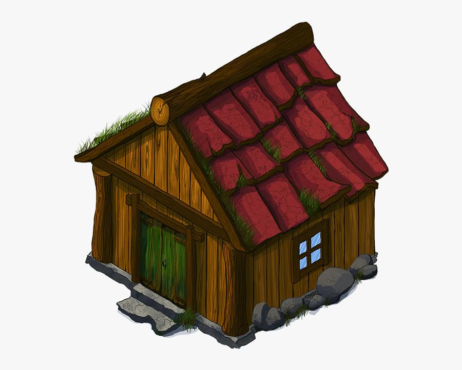 Cottage Clipart Simple House.