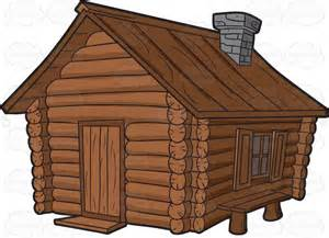 Cabin camping clipart 4.