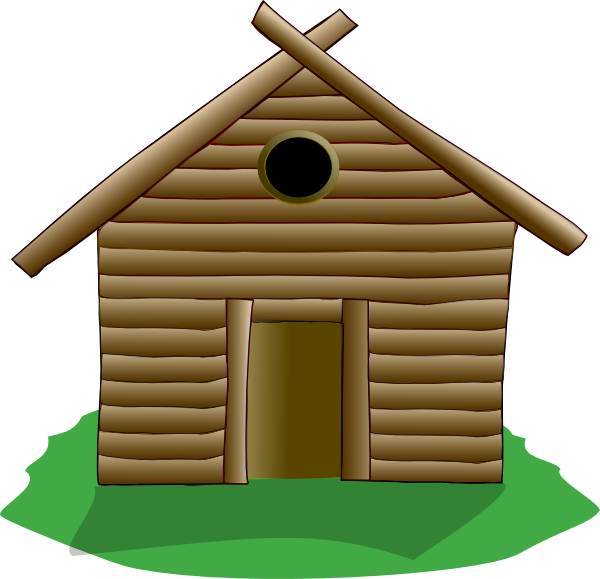 Cottage clipart mountain cabin, Cottage mountain cabin.