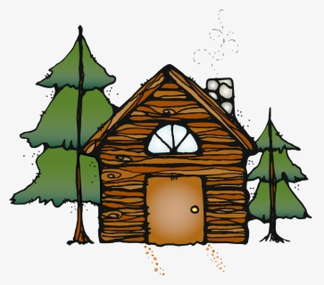 Free Cabin Clip Art with No Background.