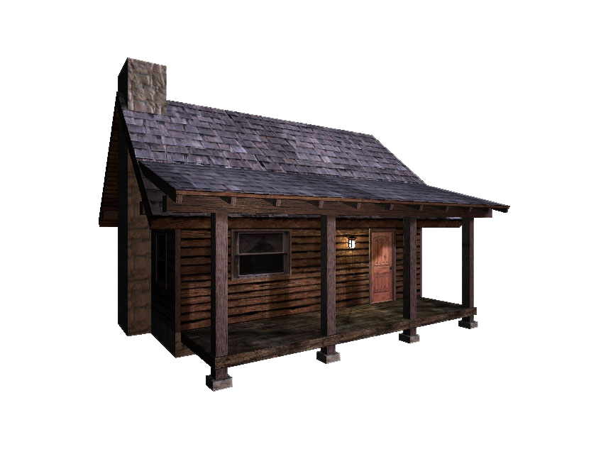 Download Cabin PNG File.