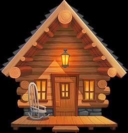 PNG Log Cabin Transparent Log Cabin.PNG Images..