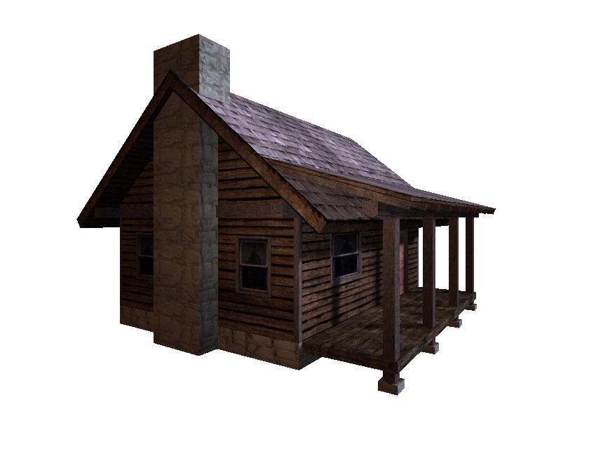 Cabin Transparent Image.