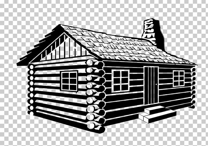 Log Cabin Drawing PNG, Clipart, Angle, Black And White, Building.