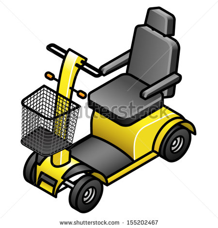Disabled Scooter Stock Vectors, Images & Vector Art.