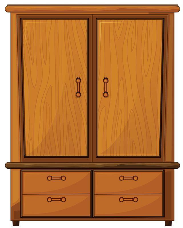 Bedroom cabinet clipart 3 » Clipart Portal.