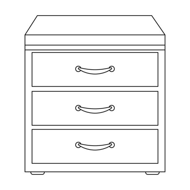 Furniture Chest Clipart Black And White & Free Clip Art Images #8741.