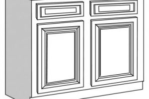 Cabinet clipart black and white 4 » Clipart Station.
