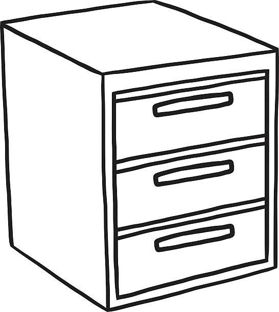 Cabinet black and white clipart 5 » Clipart Portal.