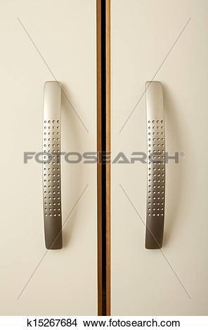 Stock Photo of Cabinet handles k15267684.
