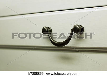 Stock Images of Kitchen cabinet handles k7888866.
