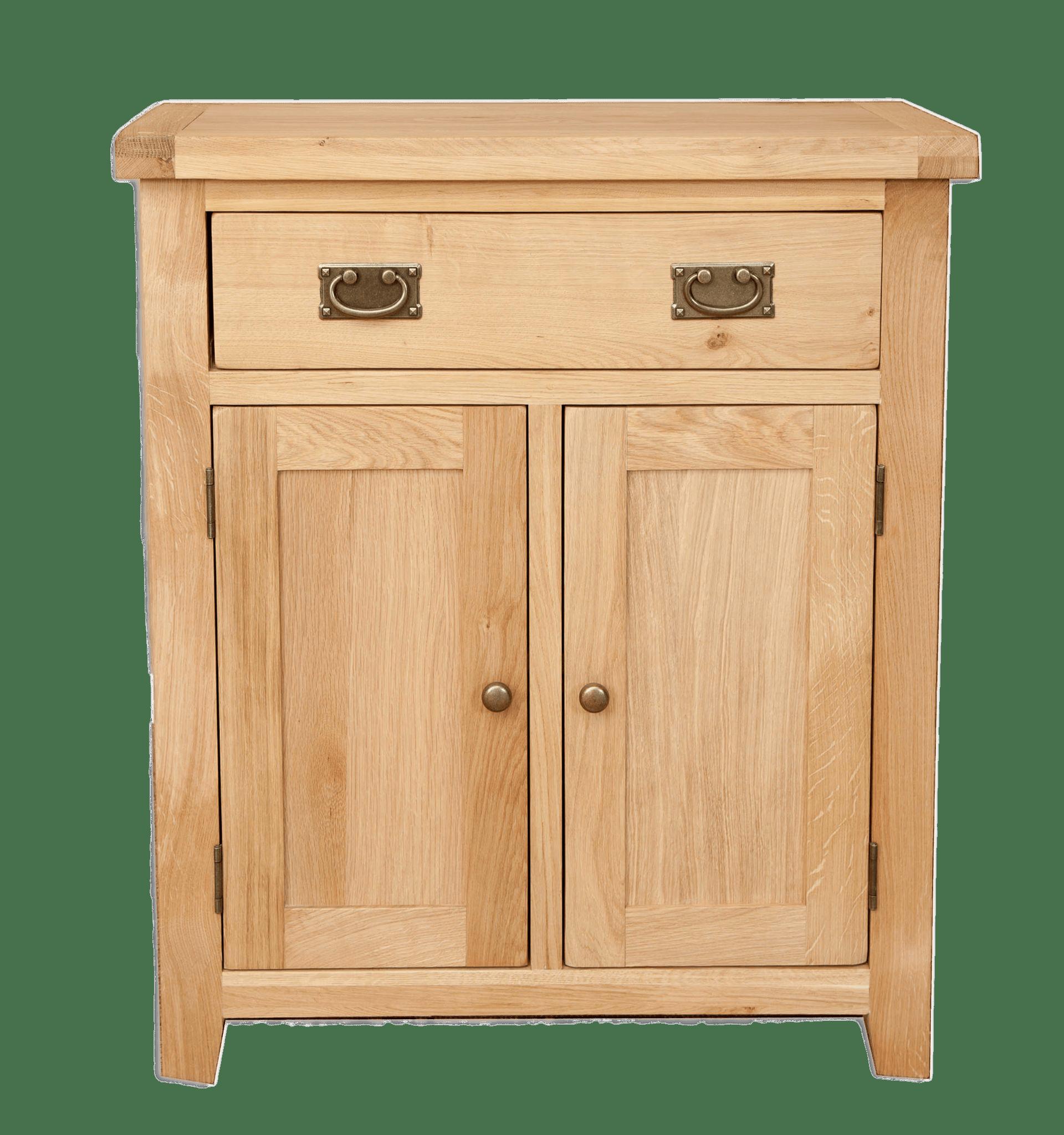 Wooden Hall Cabinet transparent PNG.