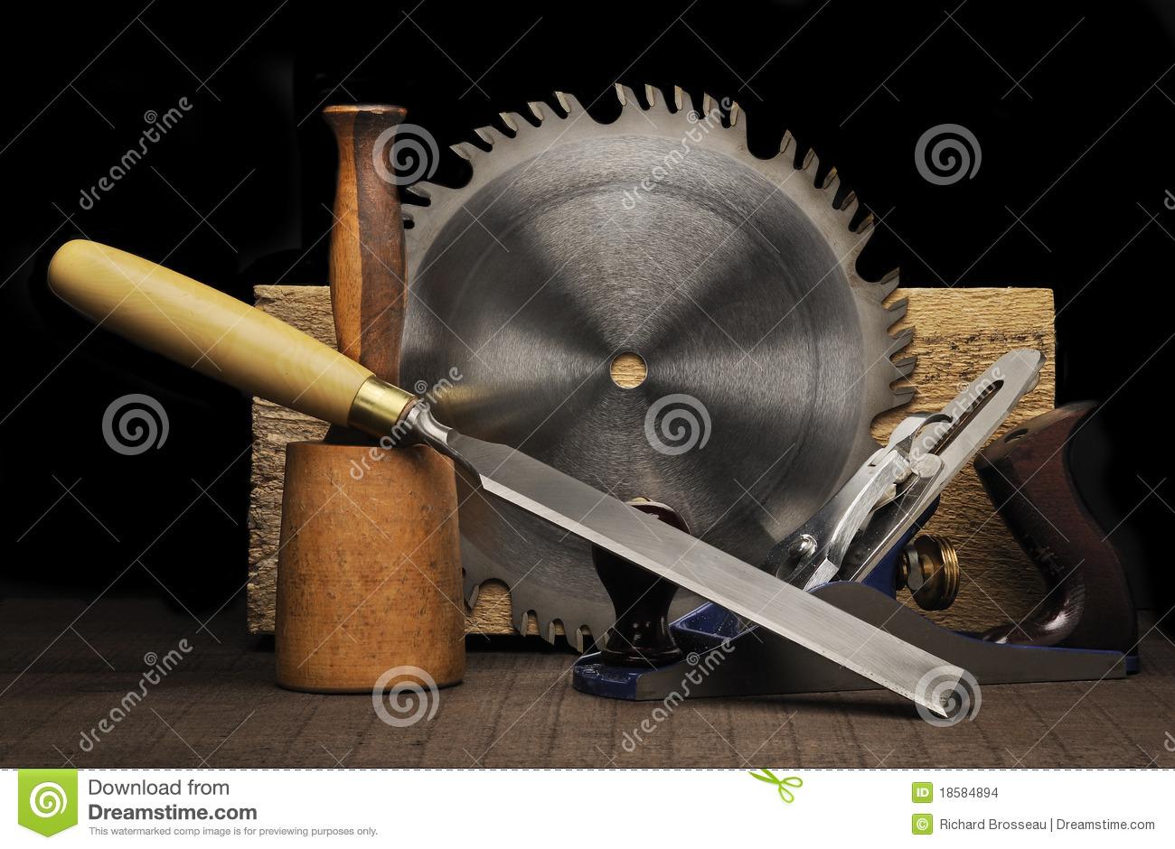 Cabinet Maker Tools Clipart.