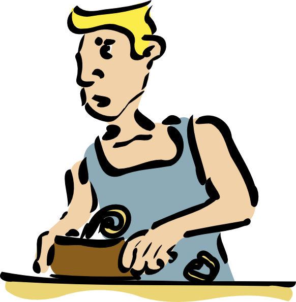 Cabinet Maker Clipart.