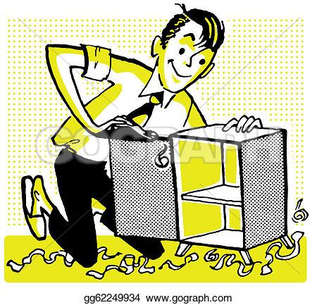 Cabinet Maker Stock Illustrations.