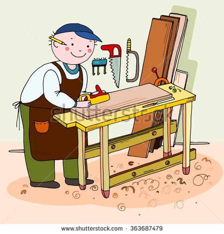 Cabinet Maker Clip Art.