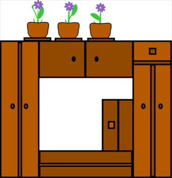 115 Cabinet 20clipart.