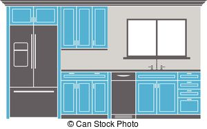 Kitchen cabinets Illustrations and Clipart. 2,274 Kitchen cabinets.