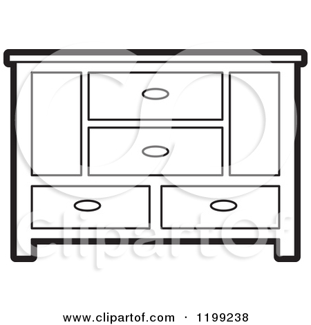 Clip Art Dining Cabinet Clipart.