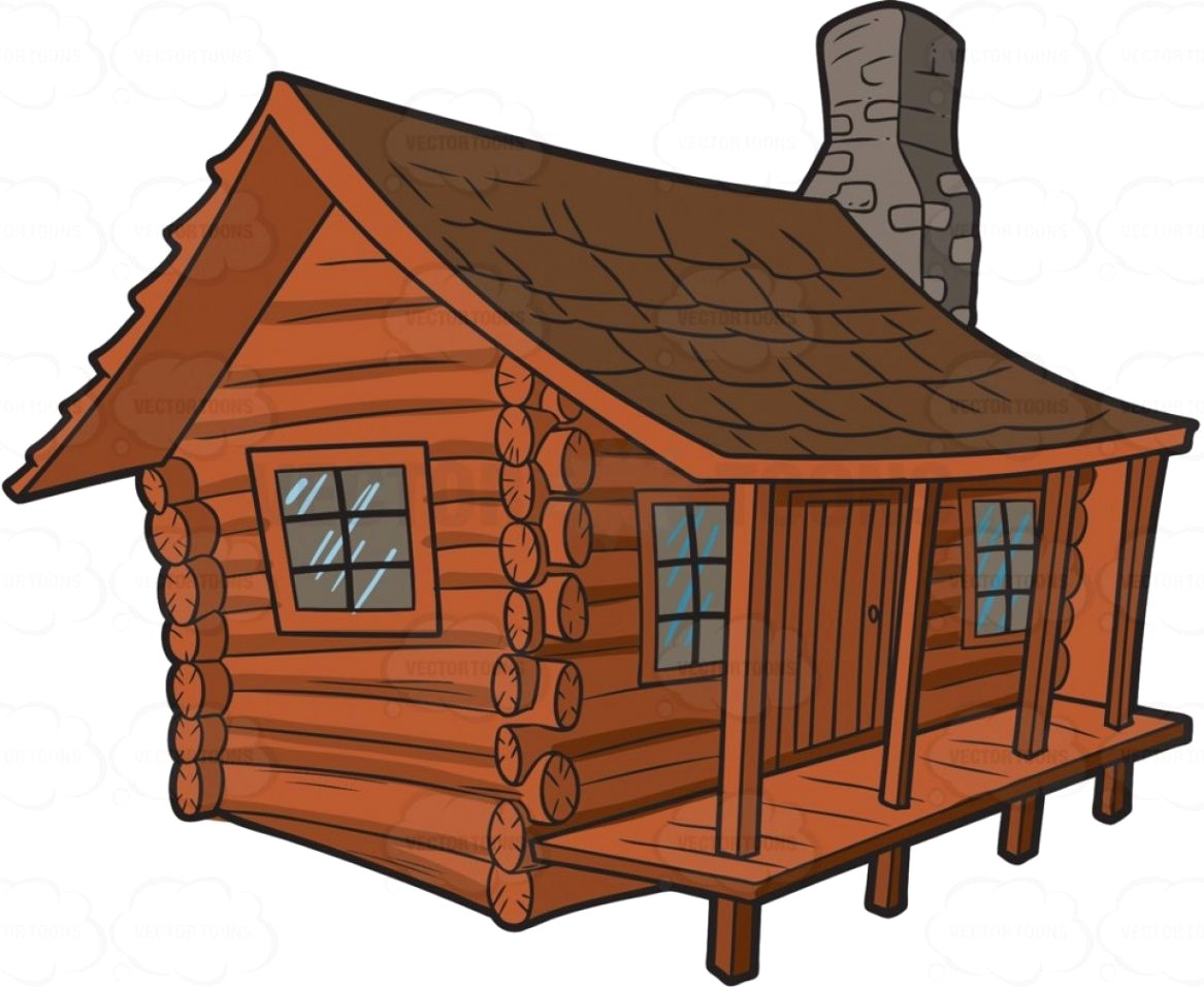 Exclusive Log Cabin Clip Art At Clker Vect #300948.