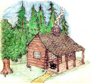 Cabins Clip Art.
