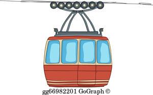 Cable Car Clip Art.