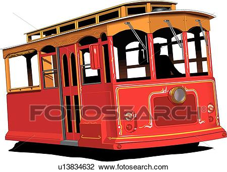 Cable Car Clipart.