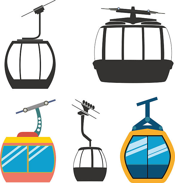 Best Cable Car Illustrations, Royalty.