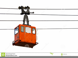 Free Cable Car Clipart.
