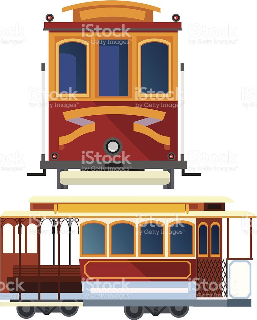 Cable Car In San Francisco stock vector art 452230941.