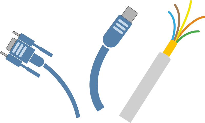 Power Cord Clip Art : Cables clipart clipground