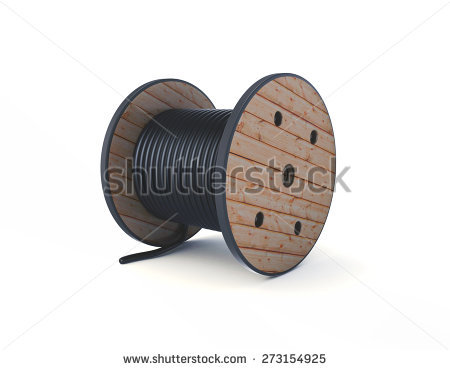 Cable Drum Stock Photos, Royalty.