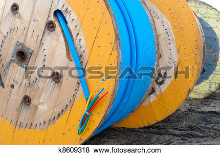 Pictures of cable drums k8609318.