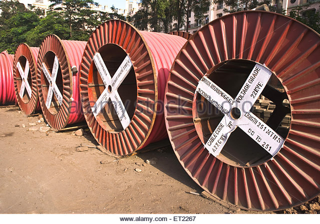 Cable Drums Stock Photos & Cable Drums Stock Images.