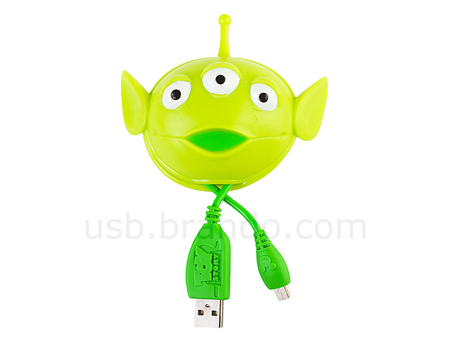 Alien USB Cable Holder with 150cm USB Cable.